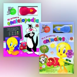 Aprende con los Looney Tunes – Pack con 2 libros interactivos