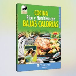 Cocina rica y nutritiva con bajas calorías