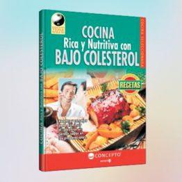 Cocina rica y nutritiva baja en colesterol