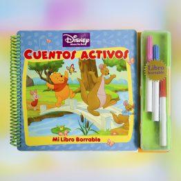 Mi libro borrable Disney – Cuentos Activos