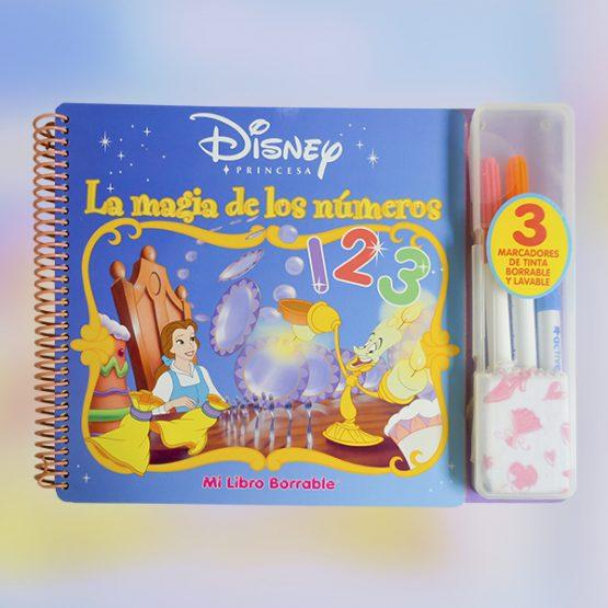 Mi libro borrable Disney – La Magia de los Números